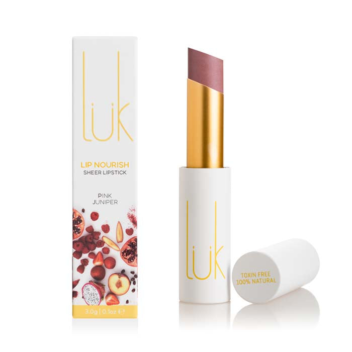 lük beautifood Lip Nourish - Pink Juniper - Natural Supply Co