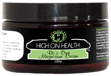 Bo's Own Magnesium Cream from High on Health