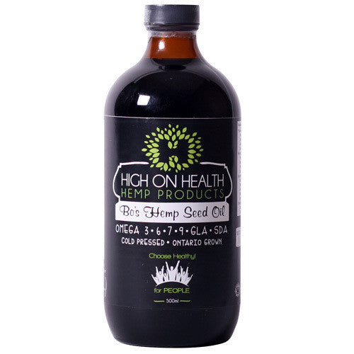 Bo's Hemp Seed Oil  from High on Health
