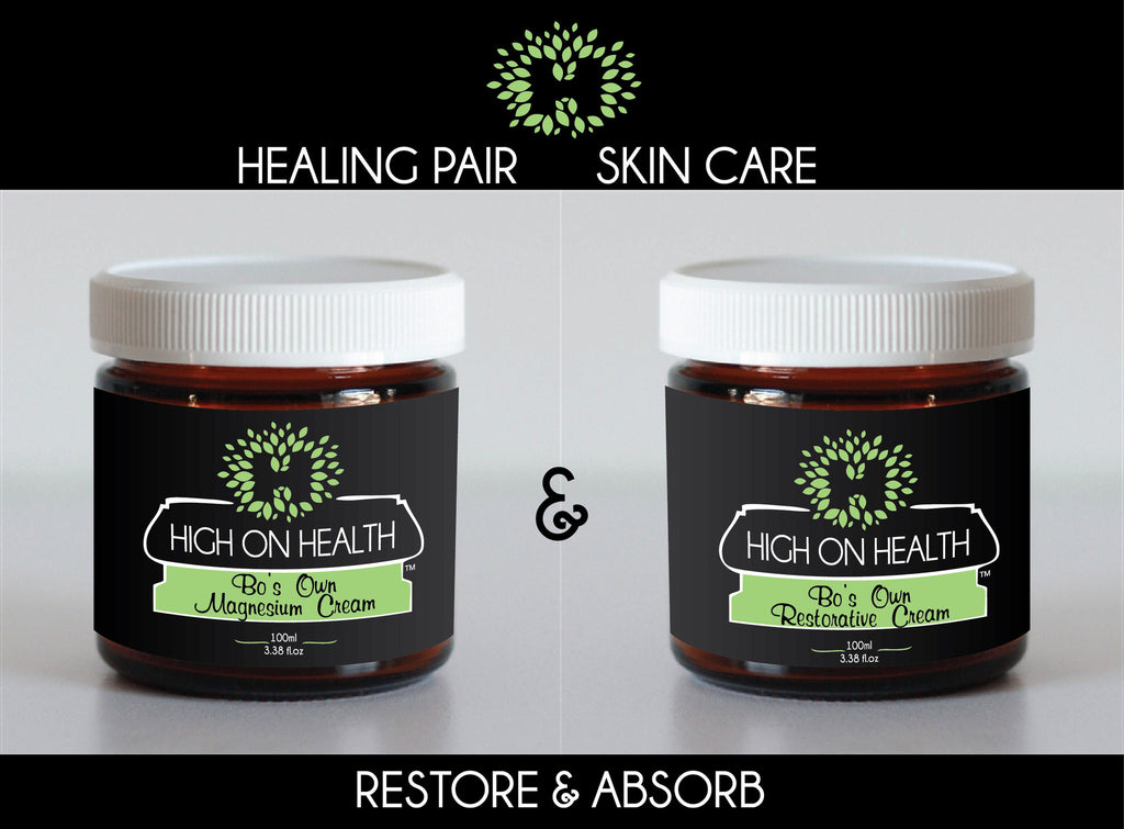Healing Pair  Skin Care !       Restore & Absorb