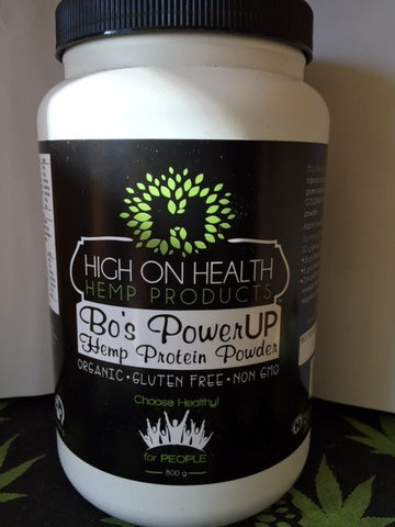 Bo's PowerUP / Organic Hemp Protein from High on Health