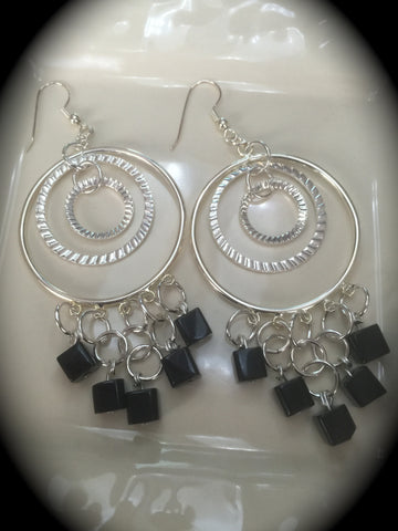 "Hoop Earring Set the ""Deb"""