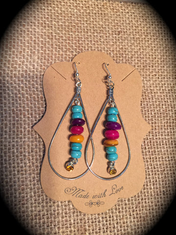 Desert Oblong Earring Set
