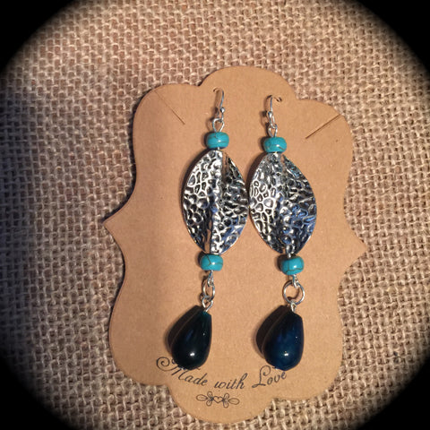 Midnight Drop Earring Set