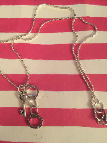 Prisoner of Love Charm Necklace