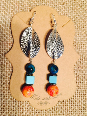 Tuscan Drop Earring Set