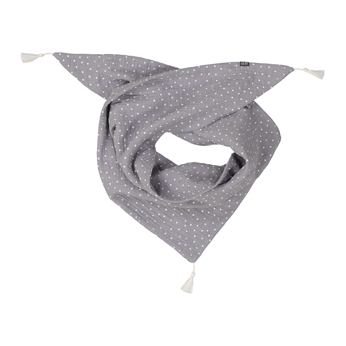 CHIC soft scarf in double gauze fabric