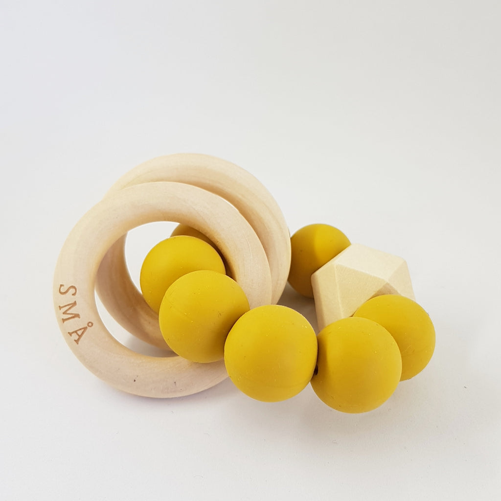 DIAMOND babyteether, mustard