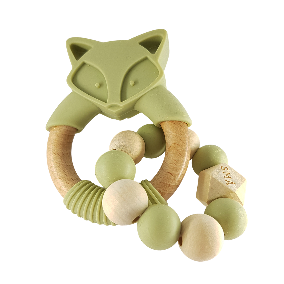 FOX babyteether, light olive