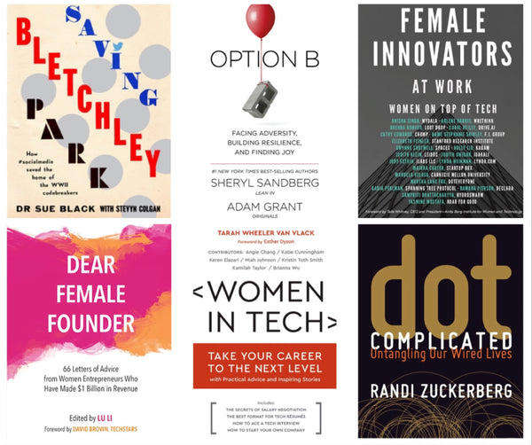 6 Inspiring Books by Women in Tech
