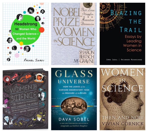 6 Books On Inspiring Women In Science