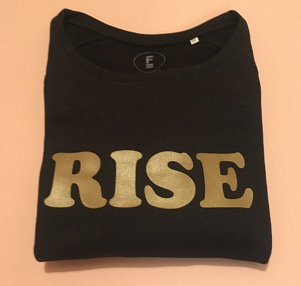 RISE LIMITED EDITION SWEATSHIRT - NEW GOLD