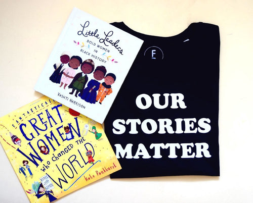 Our Stories Matter T-shirt + book