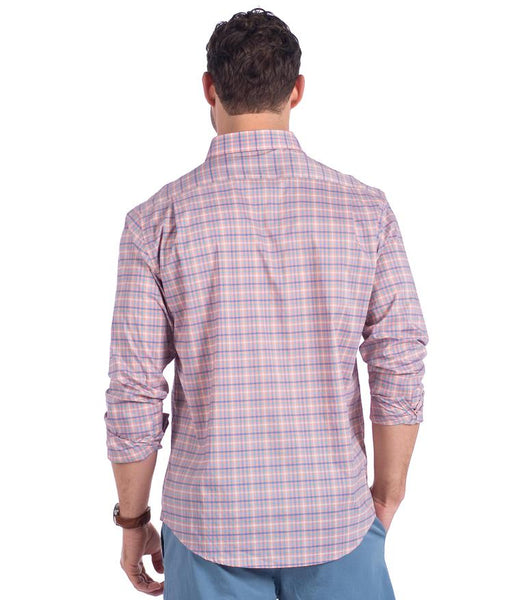 Broadstreet Check Button-Down in Peachtree