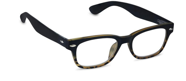 Rainbow Bright Peepers in Black/Tortoise