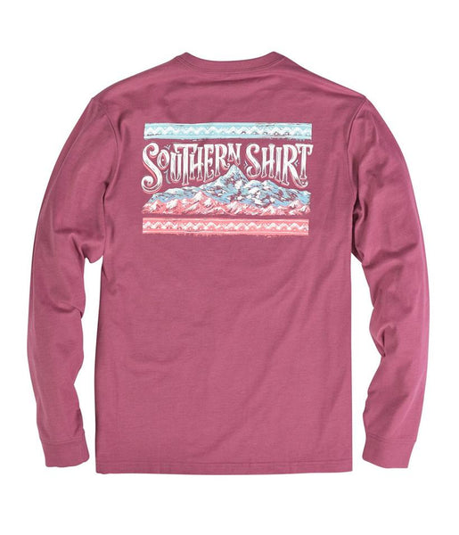 Sunset Ridge LS Tee