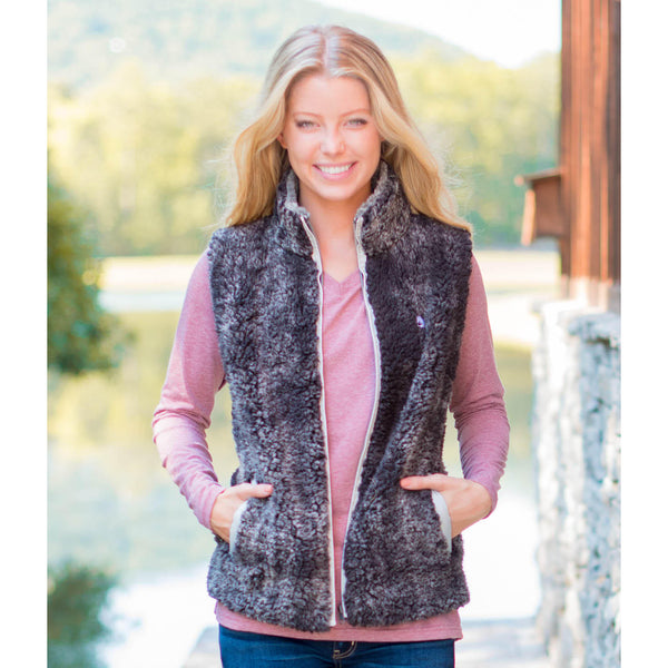 Heathered Sherpa Vest