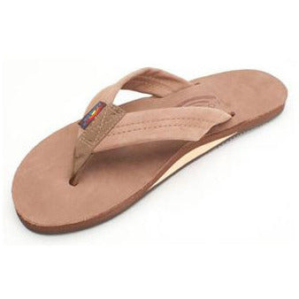 Product Image: Women's Single Layer Premier Leather Flip Flop with Arch Support