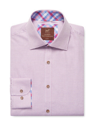 Product Image: James Tattersall Pink Covent Dress Shirt