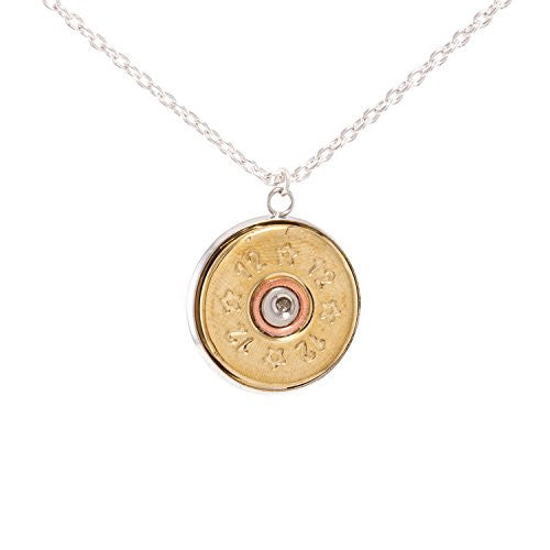 2 Monkey Trading Bullet Pendant Necklace