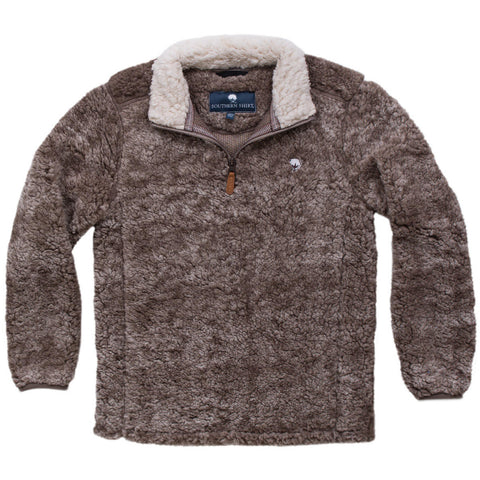 Product Image: Youth Heathered Sherpa Pullovers
