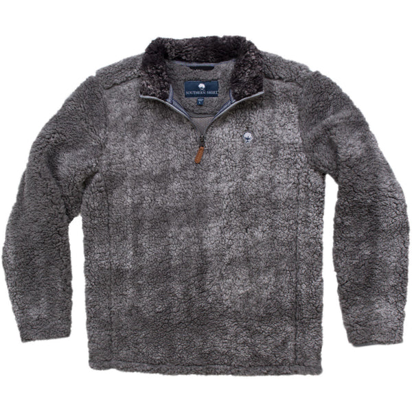 Youth Heathered Sherpa Pullovers