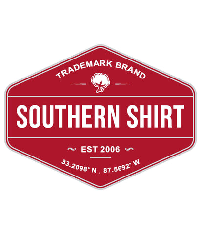 Product Image: Southern Shirt Trademark Badge Sticker
