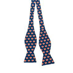 ALABAMA AUBURN GAMEDAY BOW TIE NAVY