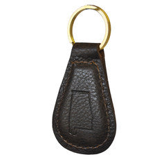 Leather Alabama Key Fob