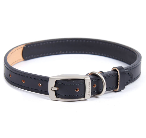 Barbour International Leather Dog Collar