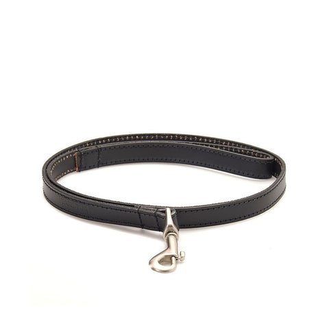 Product Image: Barbour International Black Leather Dog Lead