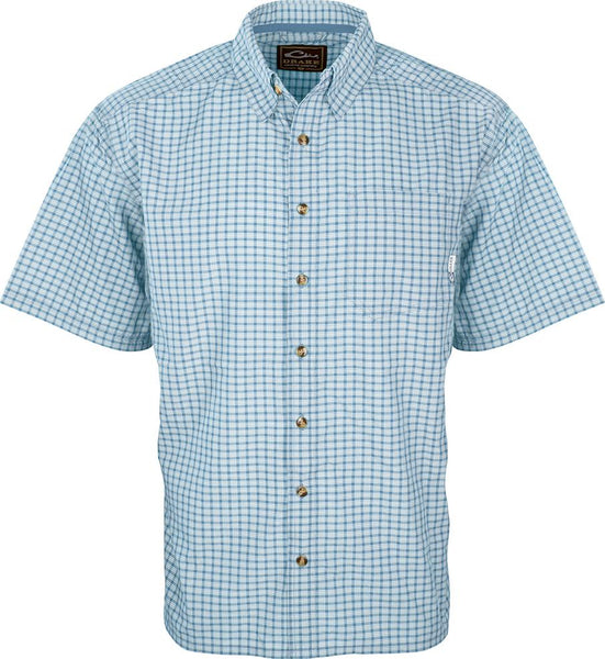 Drake FeatherLite Check Shirt S/S