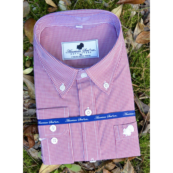 Youth Gingham Dress Shirt