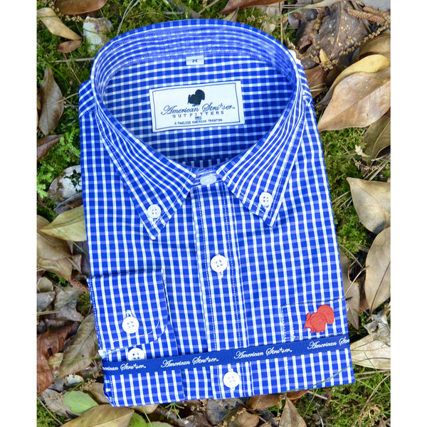Gingham Gameday Dress Shirt