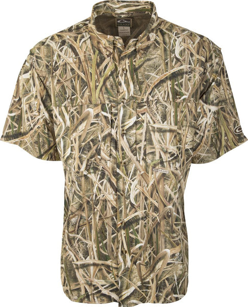 Drake EST Camo Flyweight Wingshooter's Shirt S/S