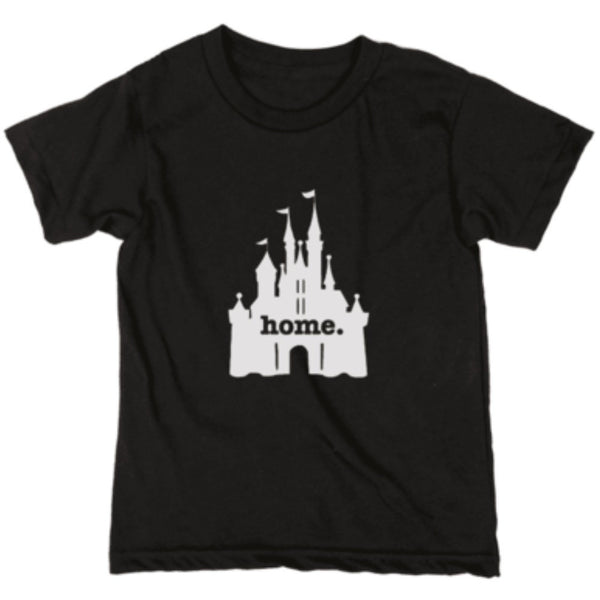 Home at the Castle Kids Tee