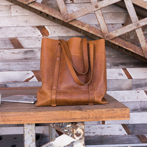 Product Image: Habitat Leather Tote