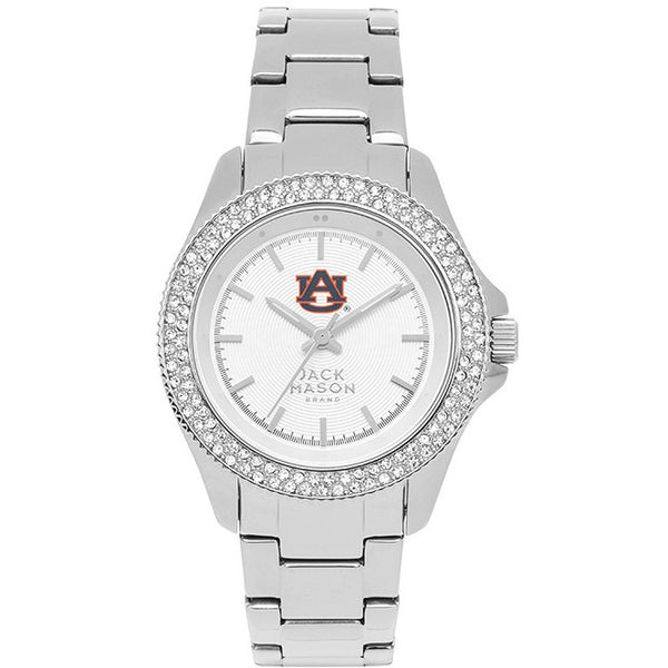 AUBURN TIGERS WOMEN'S GLITZ SPORT BRACELET WATCH