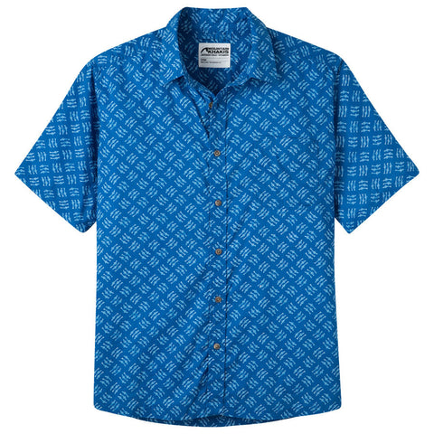 Product Image: Men's Fish Hatch Signature Print Shirt