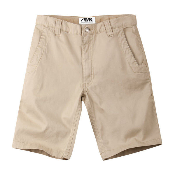 Lake Lodge Twill Short 10-Inch Light Khaki