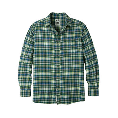 Mountain Khaki Peden Plaid Flannel Shirt