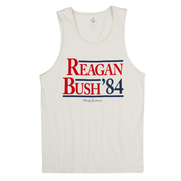 Reagan Bush '84 Tank Top size XL