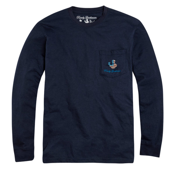 The Spirit of '76 Long Sleeve Pocket Tee