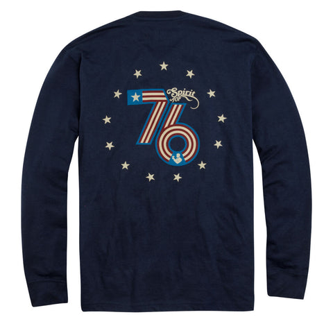 Product Image: The Spirit of '76 Long Sleeve Pocket Tee