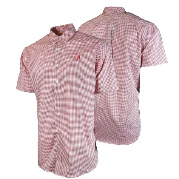 Alabama Short Sleeve Dress Shirt