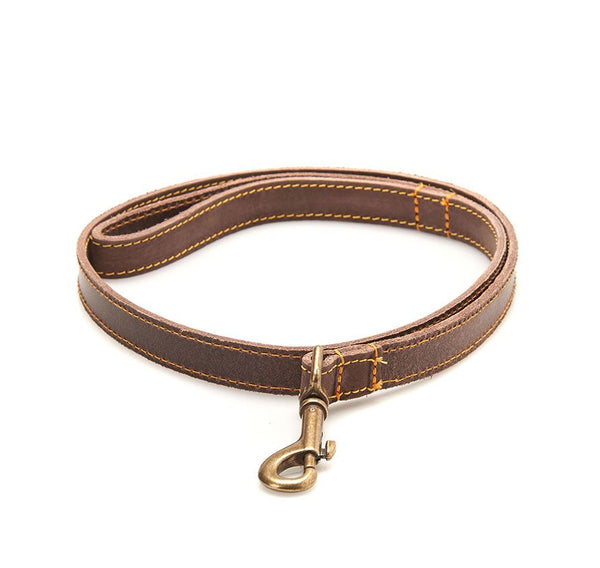 BARBOUR LEATHER DOG LEAD