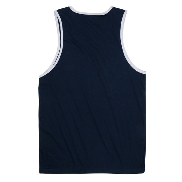 USA Streaking Tank Top Navy
