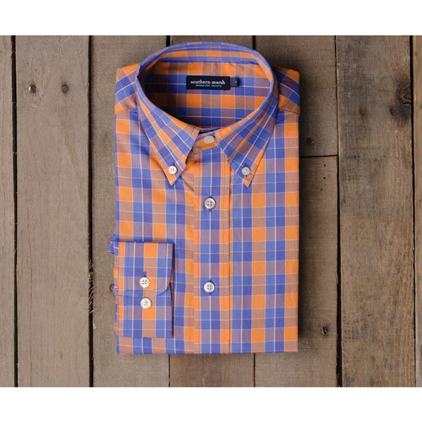 Southern Marsh Exchange Check Dress Shirt