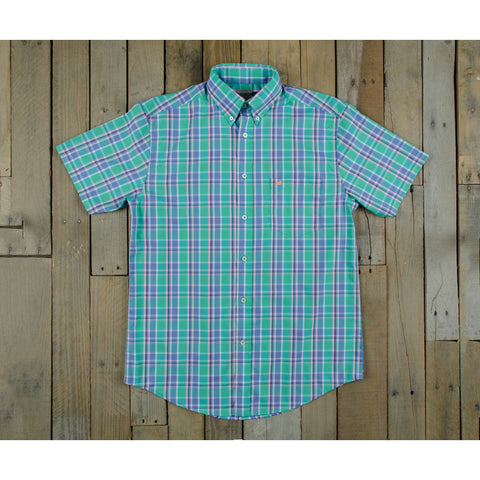 Product Image: Southern Marsh Natahala Plaid SS Dress Shirt