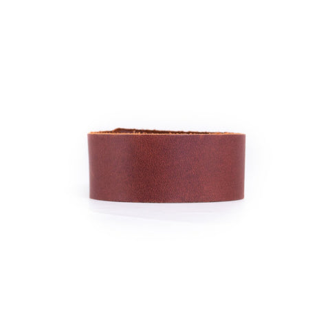 Product Image: Wide Leather Wristband